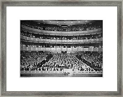 Metropolitan Opera, 1895 Framed Print by Granger