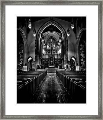 Metropolitan United Church 1 Toronto Canada Framed Print by Brian Carson