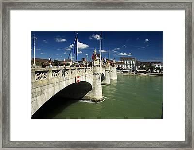 Mettler Brucke Framed Print