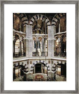 Metz, Eudes De8th C.. Palatine Chapel Framed Print