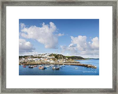 Mevagissey Cornwall England Framed Print by Colin and Linda McKie