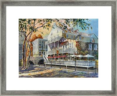 Mex And Co Restaurant Framed Print