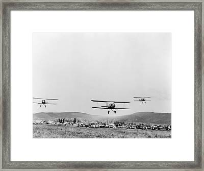 Mexican Air Force, 1942 Framed Print by Granger