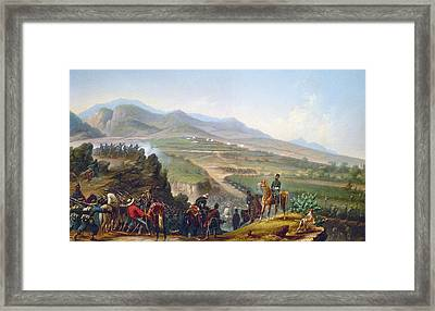 Mexican Army, 1846-1848 Framed Print by Granger