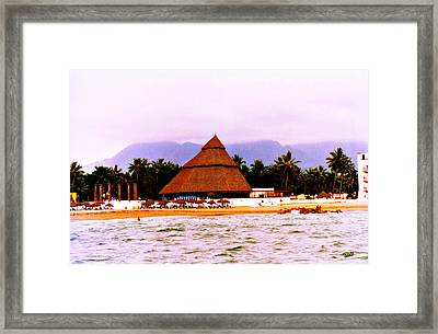 Mexican Beach Party Framed Print