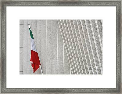 Mexican Embassy In Berlin Framed Print