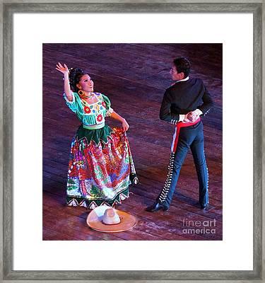 Mexican Folk Dance 12 Framed Print