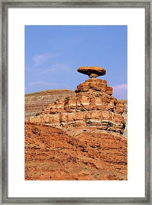 Mexican Hat Utah Framed Print