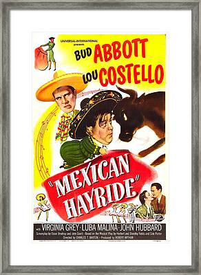 Mexican Hayride, Us Poster, From Top Framed Print