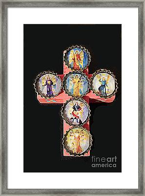 Mexican Icon Framed Print by Joe Jake Pratt