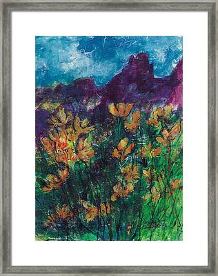 Mexican Poppies Framed Print
