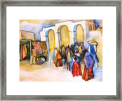Mexican Prozession Framed Print
