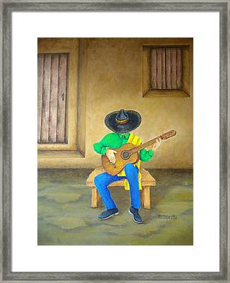 Mexican Serenade Framed Print by Pamela Allegretto