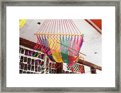 Mexican Souvenir Framed Print by Charline Xia