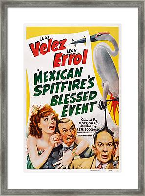 Mexican Spitfires Blessed Event, Us Framed Print