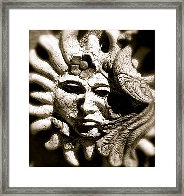 Mexican Sun Framed Print
