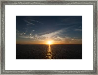 Mexican Sunrise Framed Print by Monte Arnold