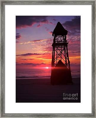 Mexican Sunset Framed Print by Derek Conley
