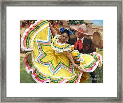 Mexicanhatdance Framed Print