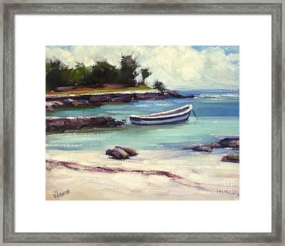 Mexico Beach Framed Print by Vickie Fears