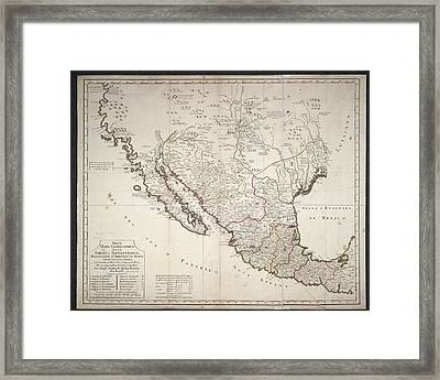 Mexico Framed Print by British Library