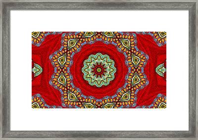 Colors Of Mexico 2 Framed Print by John  Bartosik
