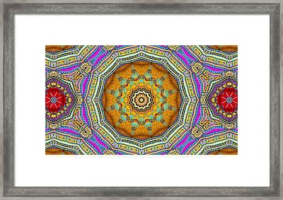 Colors Of Mexico 3 Framed Print by John  Bartosik