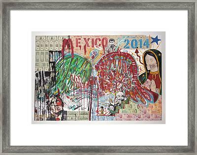 Mexico Framed Print by Danny Ayala