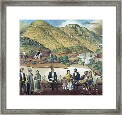Mexico Guanajuato, C1850 Framed Print by Granger