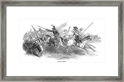 Mexico Guerillas, 1847 Framed Print by Granger