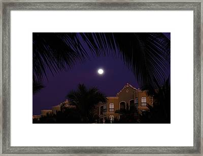 Mexico Moon Framed Print
