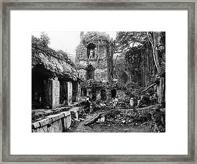 Mexico Palenque, 1880s Framed Print