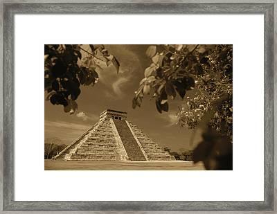 Mexico, Yucatan Peninsula, Chichen Framed Print by Stuart Westmorland