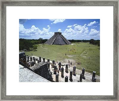 Mexico. Yucat�n. Chich�n Itz�. El Framed Print