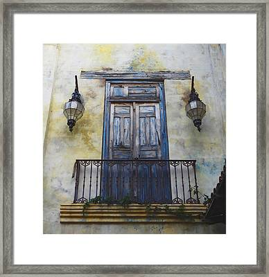 Mexico.old Town Framed Print
