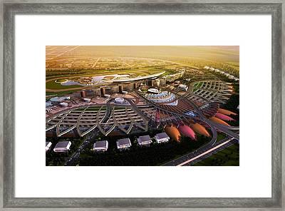 Meydan Dubai Framed Print by Gianfranco Weiss
