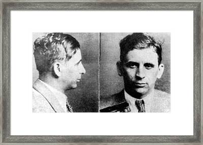 Meyer Lansky, Polish-american Mob Framed Print