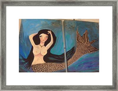 Meza Framed Print by Vickie