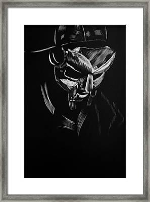 Mf Doom Framed Print
