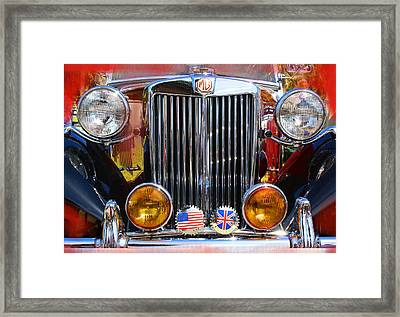 MG Framed Print by Doug Walker