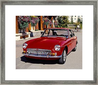 Mgb In Whistler Framed Print