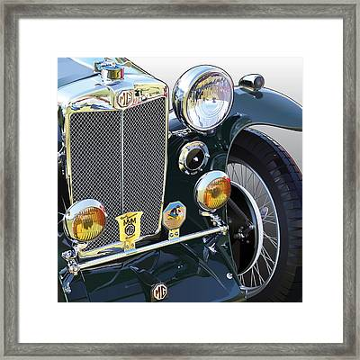 Mg-ta Framed Print