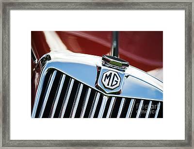 Mg Tf 1500 Vintage Car  Framed Print by Tim Gainey