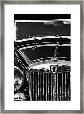 Mg Va Tickford Drophead Coupe Framed Print by Tim Gainey