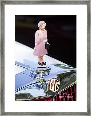 Mg Waving Queen Framed Print