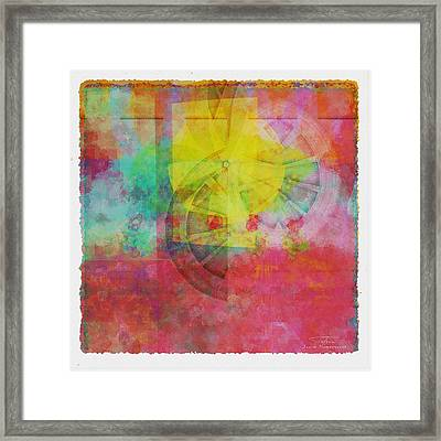 Mgl - Abstract Soft Smooth 01 Framed Print