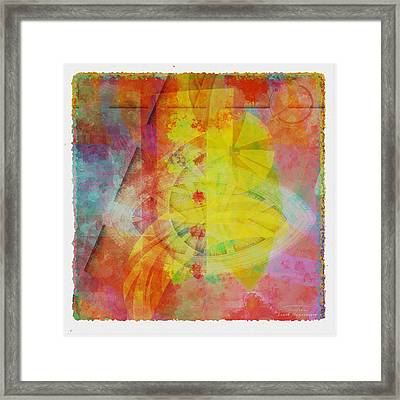 Mgl - Abstract Soft Smooth 02 Framed Print