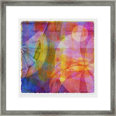 Mgl - Abstract Soft Smooth 04 Framed Print by Joost Hogervorst