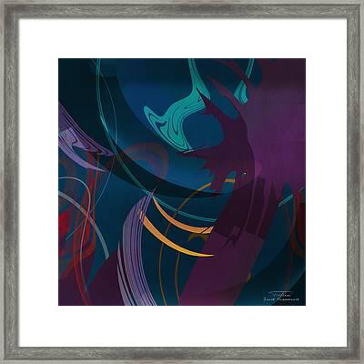 Mgl - Abstract Twirl 01 Framed Print by Joost Hogervorst