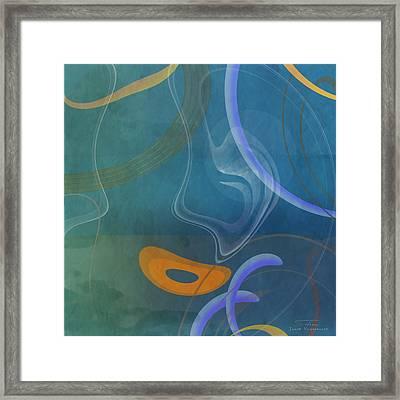 Mgl - Abstract Twirl 04 Framed Print by Joost Hogervorst